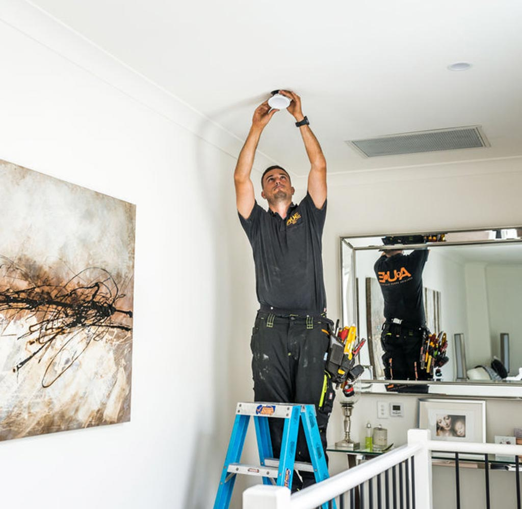 Changing over LED down lights in Adelaide