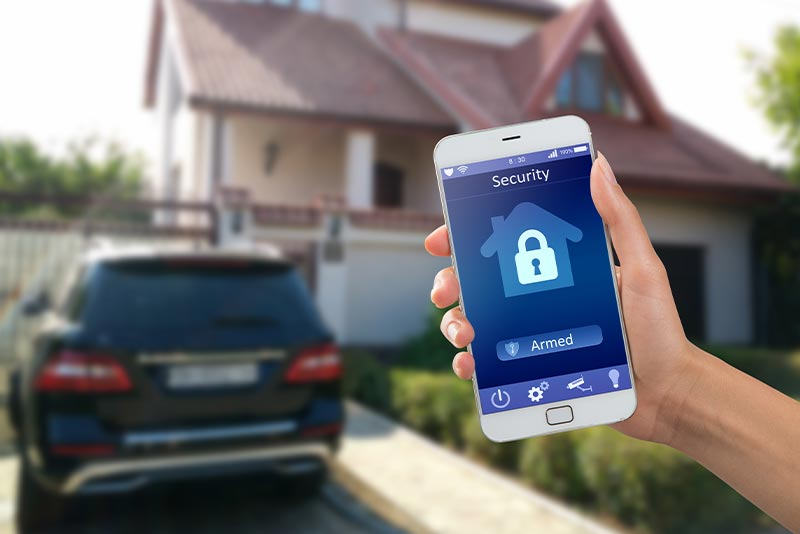Using a phone for home automation systems